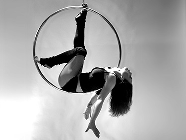 Aerial Hoop is sporten als nooit te voren!